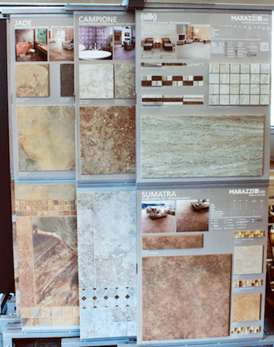 Stone & Ceramic Tile Flooring Patterns in Richmond & Glen Allen, Virginia (VA)