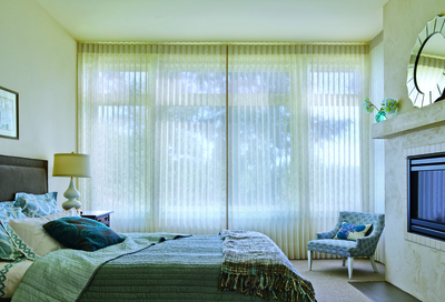 Choosing Hunter Douglas Premium Shades for Homes Near Richmond, Virginia (VA) like Luminette for Bedroom Privacy