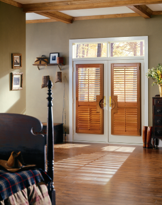 Beautiful hardwood shutters, as well as hybrid and Polysatin™, to complement homes near Richmond, Virginia (VA)